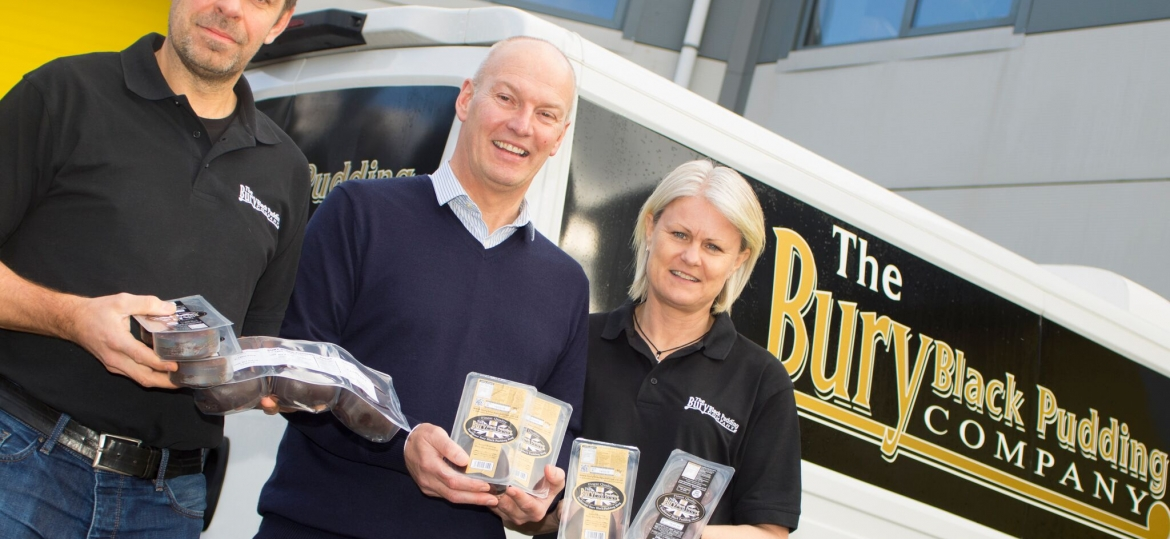 The Vacuum Pouch και Bury Black Pudding Company