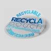 ανακυκλώσιμα αυτοκόλλητα σακούλας κενού