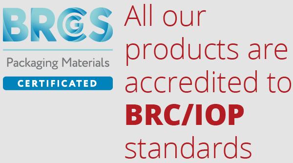 brcgs ackrediterad tillverkare av vakuumpåsar
